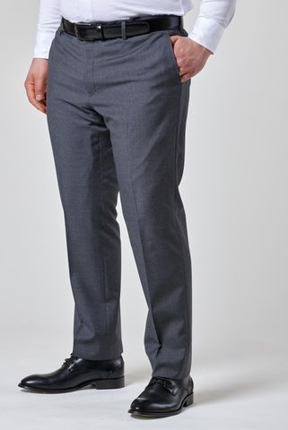 Medium grey trousers 100s comfort Angelico
