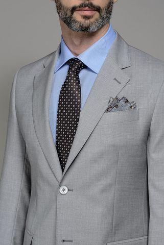 abito grigio chiaro 100s Angelico