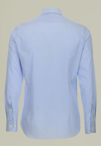 light blue shirt micro-stripes slim Angelico
