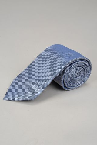 light blue tie with dots effect Angelico