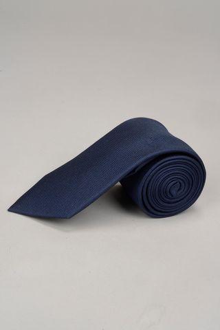 cravatta blu seta Angelico