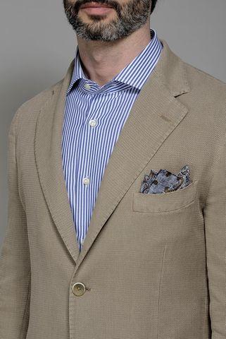 giacca biscotto armatura cotone ramiè Angelico