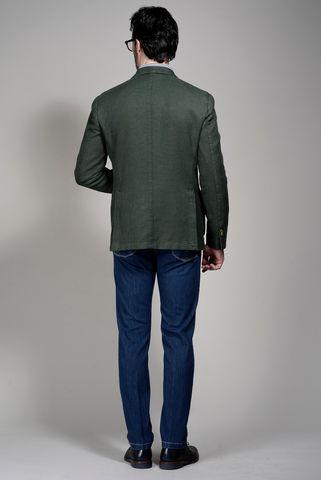 giacca verde oliva armatura cotone ramiè Angelico
