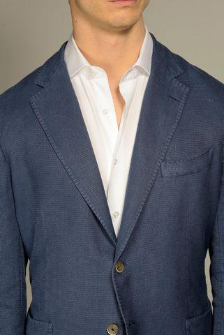 giacca bluette armatura cotone ramiè Angelico