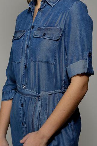 abito jeans midi chemisier Angelico
