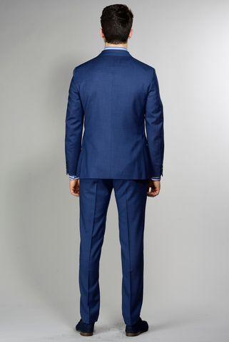 abito bluette armatura 100s slim Angelico