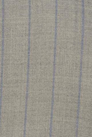 abito grigio chiaro gessato blu sfoderato slim Angelico