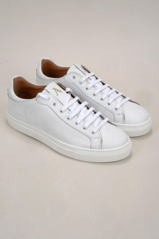 white leather sneaker Angelico