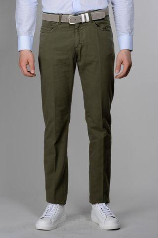 pantalone verde 5tasche armatura tc Angelico