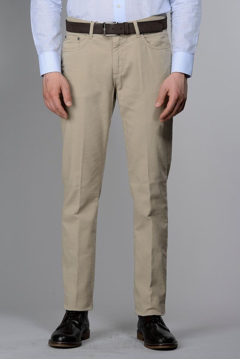 pantalone beige 5tasche armatura tc Angelico