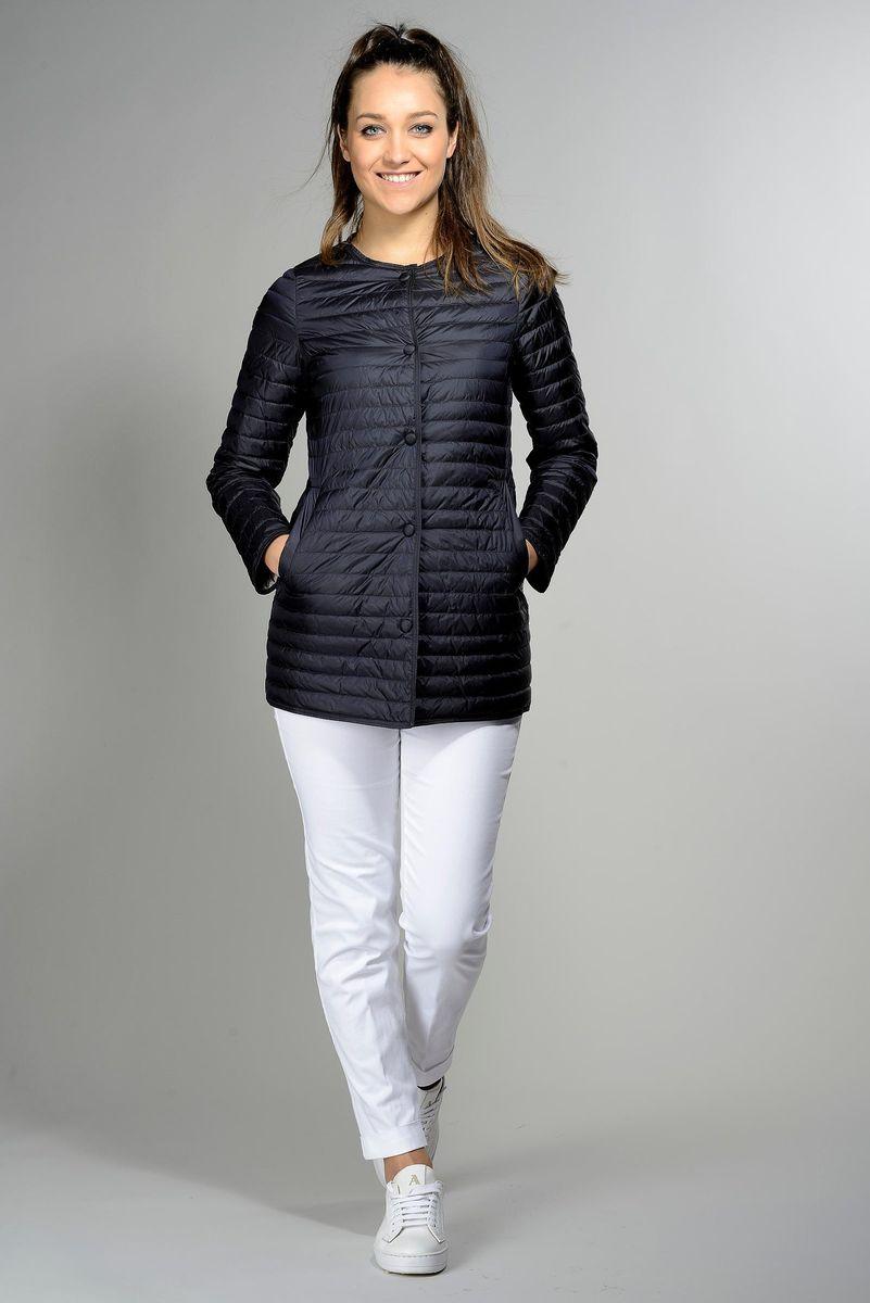 navy korean light duvet jacket Angelico