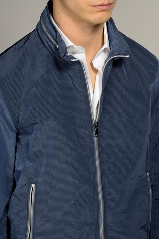 bluette light jacket white details Angelico