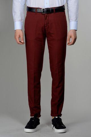pantalone bordeaux armatura tc slim Angelico