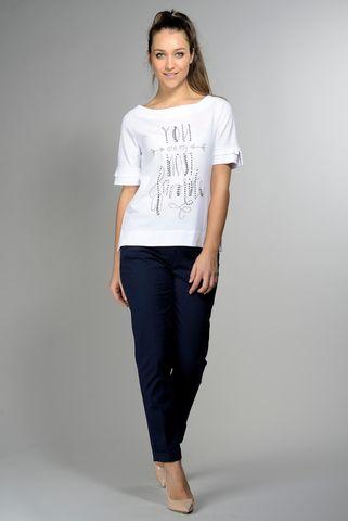 t-shirt bianca felpa scritta strass Angelico