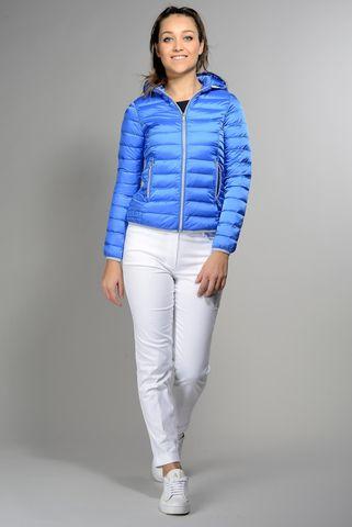 royal blue hooded eco-duvet 100gr Angelico