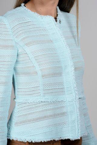 chanel aquamarine jacket Angelico