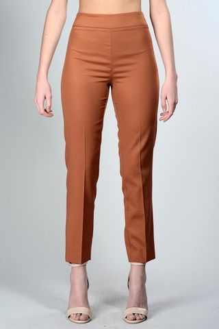 elegant copper woman trousers Angelico