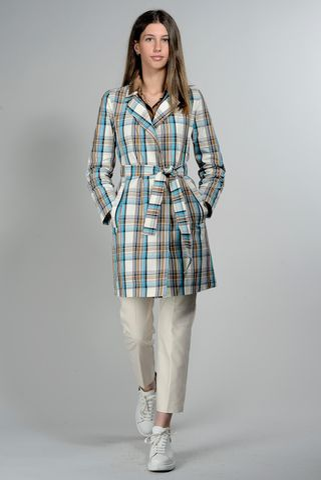 blue-brown scottish raincoat Angelico