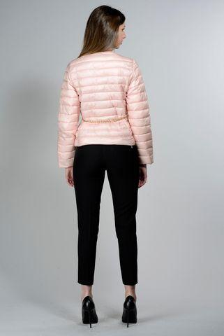 piumino rosa coreano cintura catena Angelico