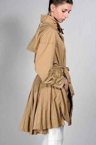 safari raincoat with folds Angelico