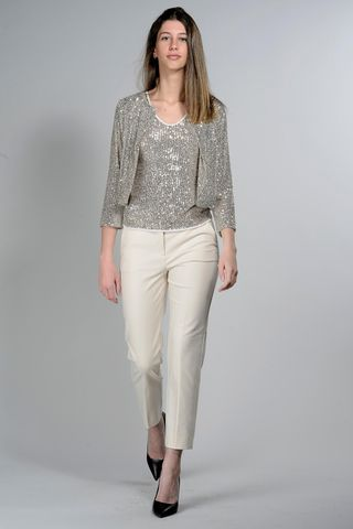 silver sequins jacket Angelico