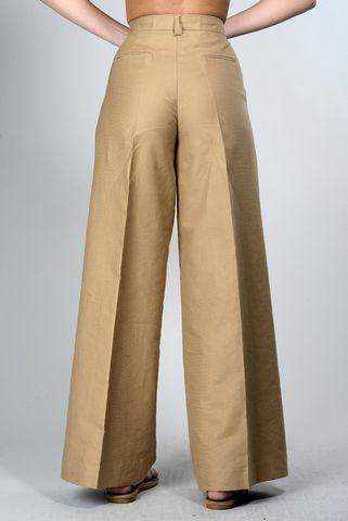 pantalone safari pinces gamba ampia Angelico