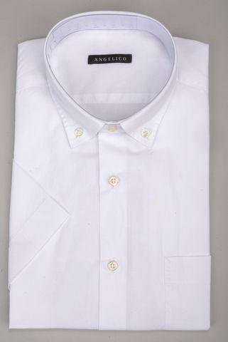 Camicia manica corta bianca bd Angelico