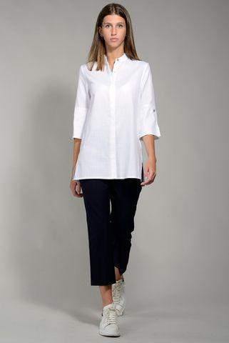 Camicia bianca lunga coreana Angelico