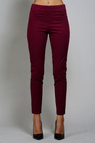 pantalone bordeaux leggings Angelico