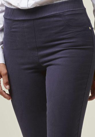 pantalone blu leggings Angelico