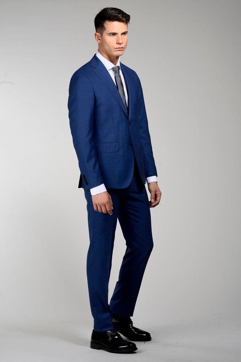abito blu chiaro loro piana armatura slim Angelico