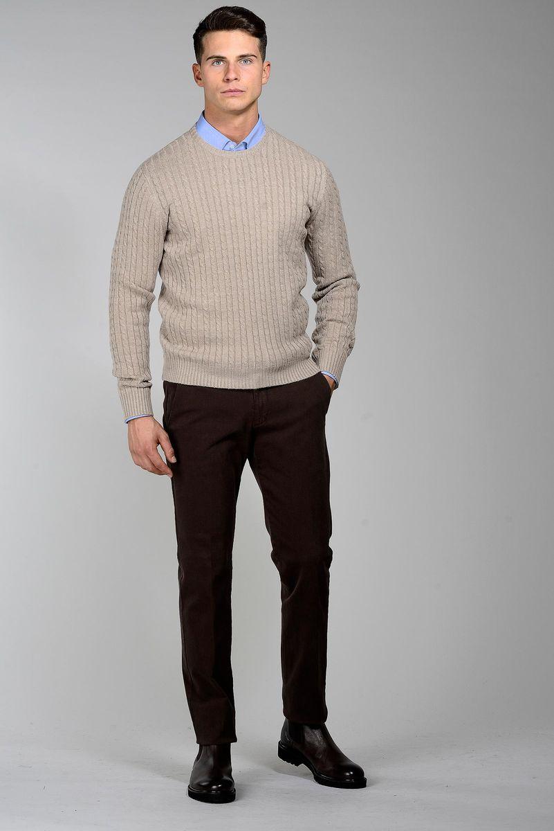 girocollo naturale trecce lana-cachemire Angelico