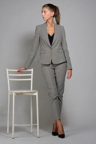 pantalone grigio pie de poule sigaretta kocca Angelico