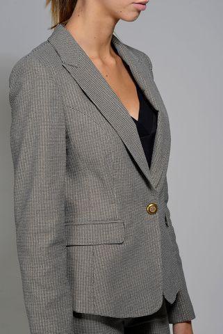 gray pie de poule jacket kocca Angelico