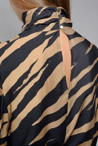 camicia cammello zebrata kocca Angelico