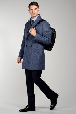 cappotto avio doppio petto spigato Angelico