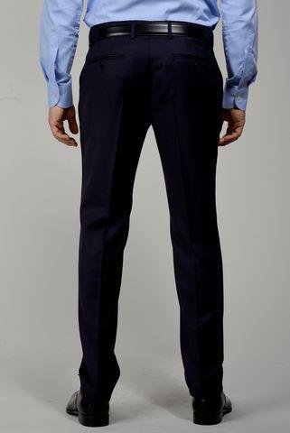 pantalone blu sallia lana tasmania Angelico