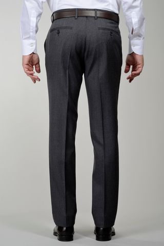 pantalone grigio sallia lana tasmania Angelico