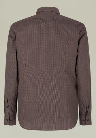 camicia moro micro-disegno slim bd Angelico