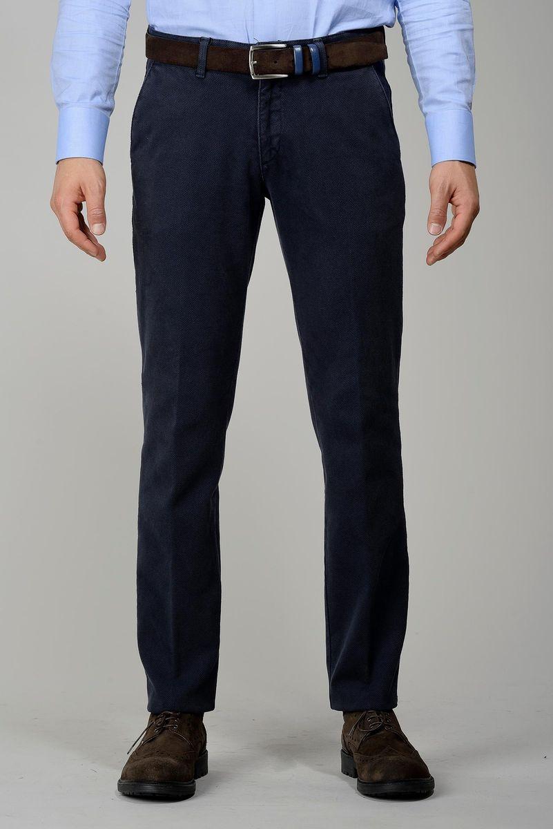 pantalone blu armatura nido ape tc slim Angelico
