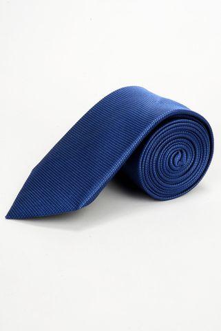 cravatta indaco seta Angelico