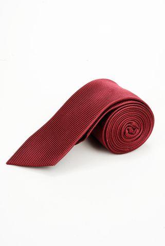 cravatta bordeaux seta Angelico