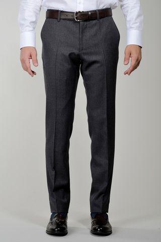 pantalone grigio sallia lana tasmania comodo Angelico