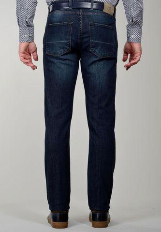 jeans blu tasche america delave slim Angelico