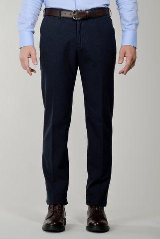 pantalone blu piedepoule tinto capo Angelico