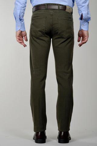 pantalone verde muschio 5 tasche tc Angelico