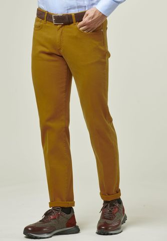 pantalone ocra 5 tasche tc armatura Angelico