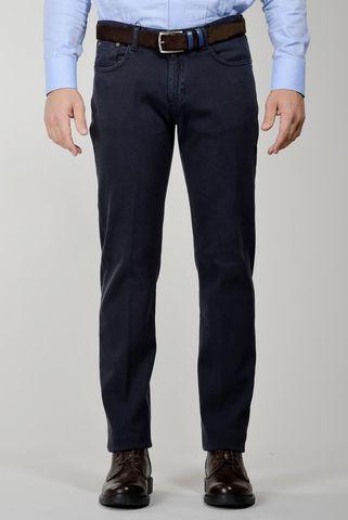 pantalone blu 5 tasche tc Angelico