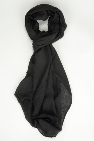 black modal scarf Angelico