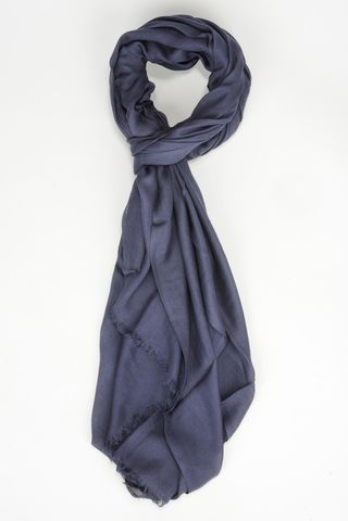 dark blue modal scarf Angelico